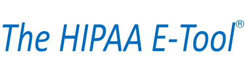Blue hipaa etool logo