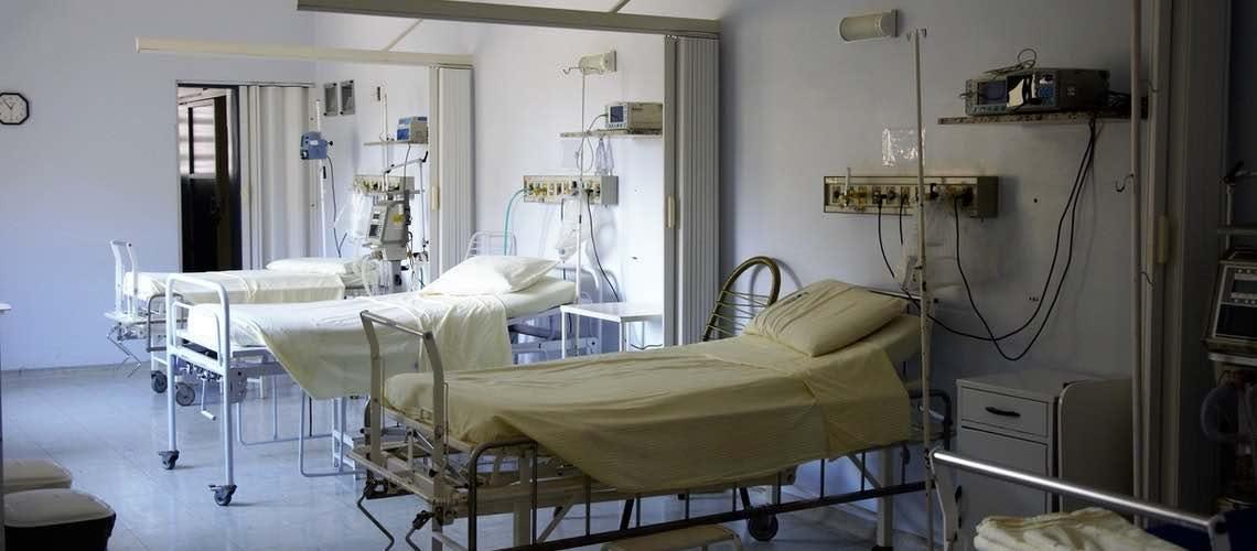empty hospital beds 1