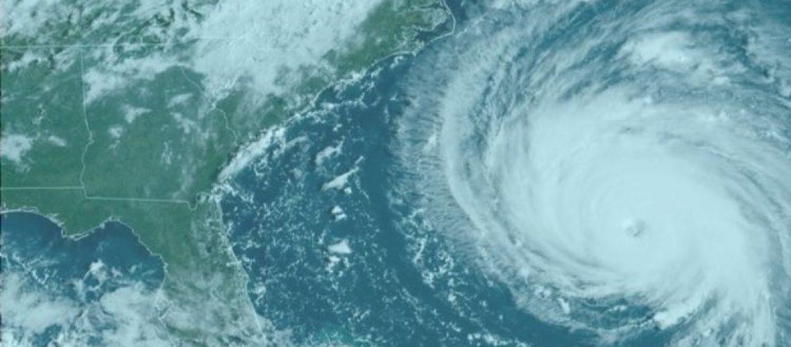 hurricane florence Blue