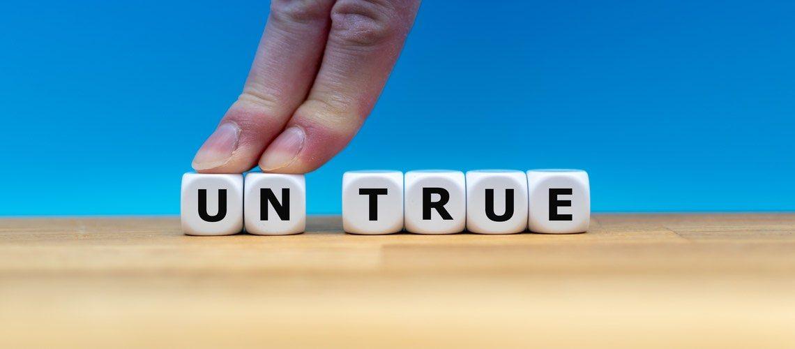 truth vs untruth